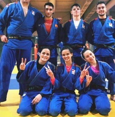 Nuestros Judokas continúan con su trabajo. Irinel concentrado con la Selección y la sección del CAS en el Cº de Aragón Junior