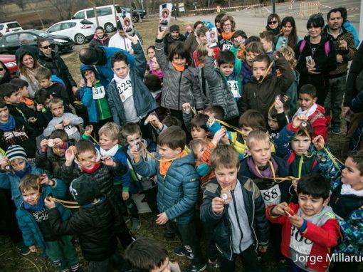 Se celebró el XX Cross de la Ferieta, pospuesto del anterior domingo día 3. Aínsa, 10 de Febrero.
