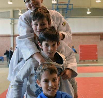 La Escuela de Judo del CAS compitió en la 1ª Fase del Campeonato Escolar Cadete. Domingo 24 de Febrero