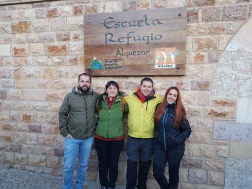 Formación de monitores del CAS. Escuela-Refugio FAM en Alquézar, 16 y 17 de Febrero