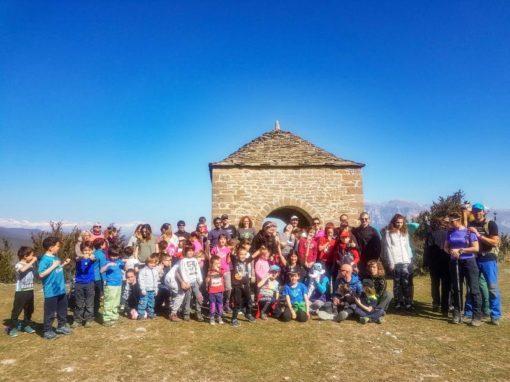 EL Chiquicas disfrutó de una climatología de primavera en su salida invernal. Domingo 24 de Febrero