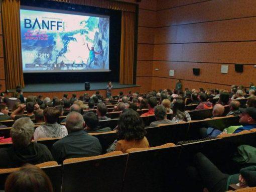 Celebrada la 4ª edición del Tour Mundial del Festival de Banff en Sobrarbe. Boltaña, 8 y 9 de Marzo