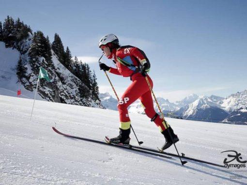 Competición en Esquí de Montaña. Histórico Fin de Semana