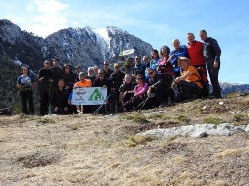 Realizada la travesía entre Llert (valle de Bardají) y El Run (valle de Benasque). Sábado 9 de Marzo
