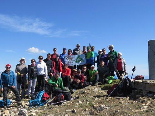 Realizada la ascensión a la cresta y cima de Gabardiella, en vuelta circular. Sábado 23 de Marzo