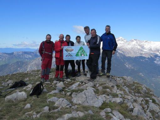 Realizada la ascensión al pico Baciero (2.116 metros), después de varias intentonas. Sábado 4 de Mayo