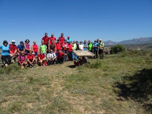 Hemos estado, un año más, en el Eº de Clubes de Montañismo de la provincia de Huesca. Sábado 1 de Junio en Tierz.