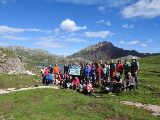 Este año sí hemos podido realizar la travesía por el GR11 entre Sansanet (Francia) y refugio de Lizara. Sábado 8 de Junio