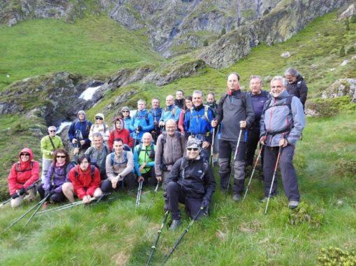 Este año si hemos podido realizar la ascensión a la Péne Abeillere (Francia, 2.611 metros). Sábado 22 de Junio
