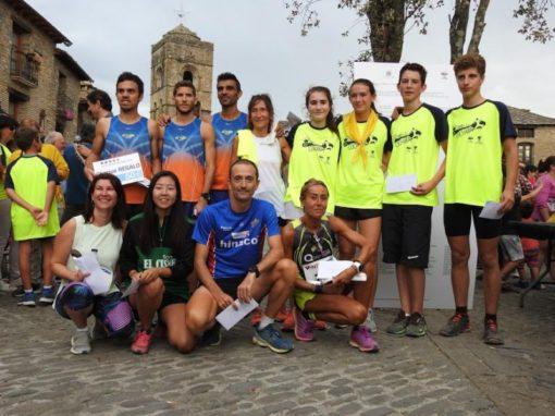 Gran participación de corredores y batido record en la CORRIDA CUCHARA 2019 del 14 de Septiembre en Aínsa.