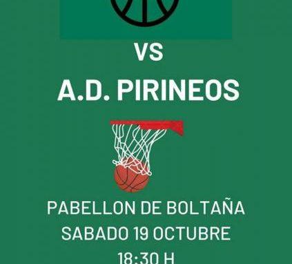 Basket Sobrarbe comienza su andadura. Hoy sábado partido.