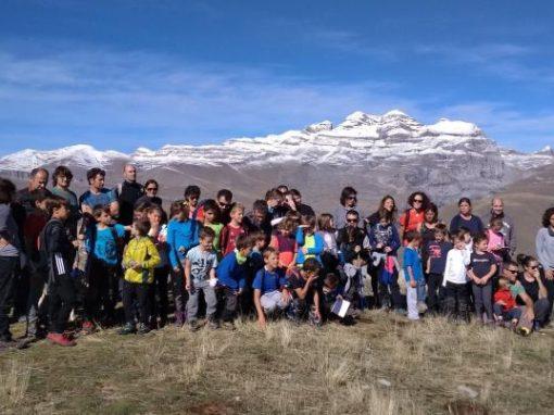 """Salida del Chiquicás a Sestrales: """"Vivimos en uno de los lugares más bonitos del mundo""""."""