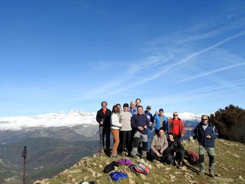 Despedida del año en el Pico Nabaín