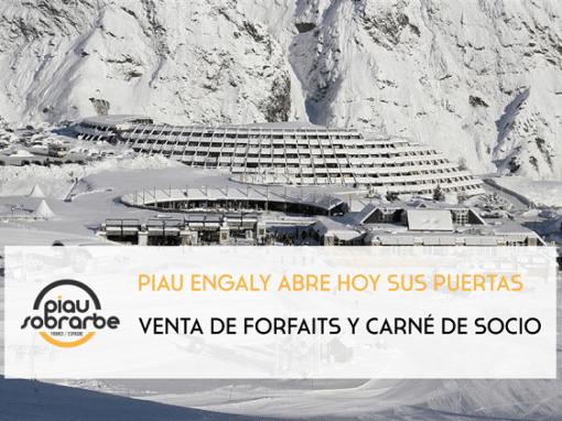 Forfaits Piau Engaly y nuevos carnés de socios (solo para socios CAS)
