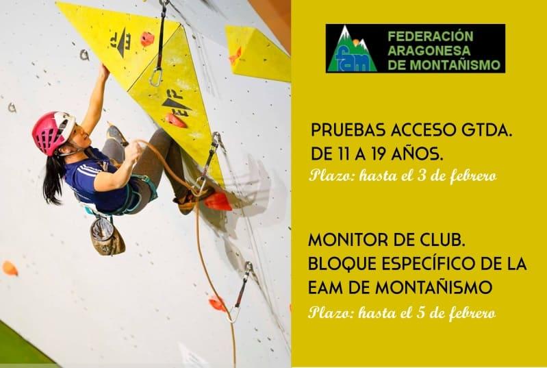 Comunicaciones de la Federación Aragonesa de Montañismo (FAM)
