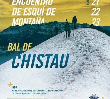 Abiertas las inscripciones para el IV Encuentro de Esquí de Montaña Bal de Chistau.