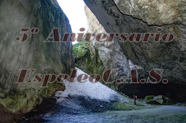 Quinto aniversario de la sección EspeleoCAS