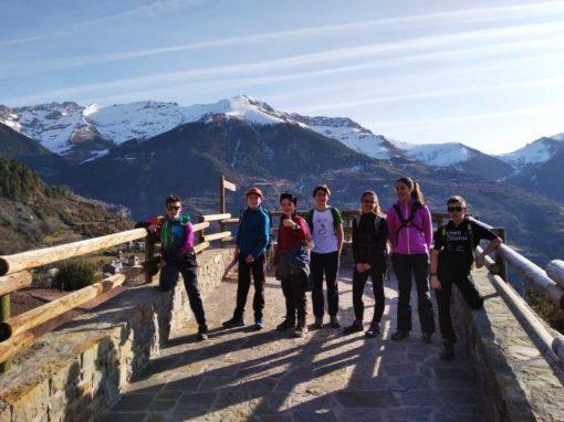 Realizada la 2ª Excursión del grupo juvenil del CAS. Sábado 8 de Febrero. Ruta por el valle de Chistau