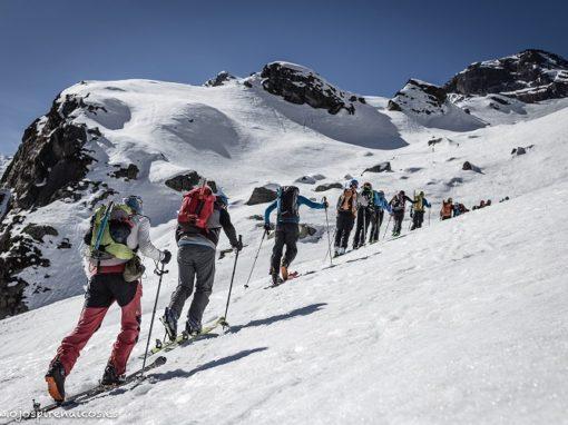 Éxito de la cuarta edición del Encuentro de Esquí de Montaña Bal de Chistau.