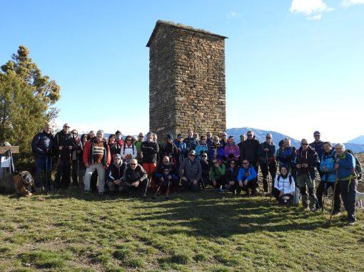 Realizada la primera salida senderista del año CAS-Nabaín. Travesía Charo-El Humo de Muro. Sábado 7 de Marzo