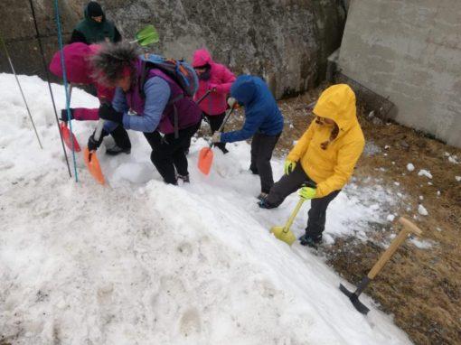 Celebrada la Jornada de seguridad y primeros auxilios en terreno de avalanchas.