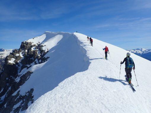 "Fotos ganadoras ""I Concurso de fotografía de Esquí de Montaña Bal de Chistau""."