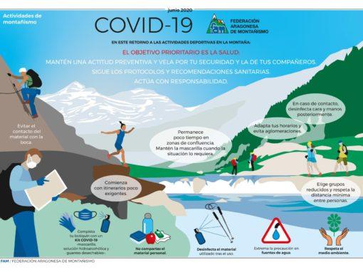 Recomendaciones deportes de montaña frente al Covid-19