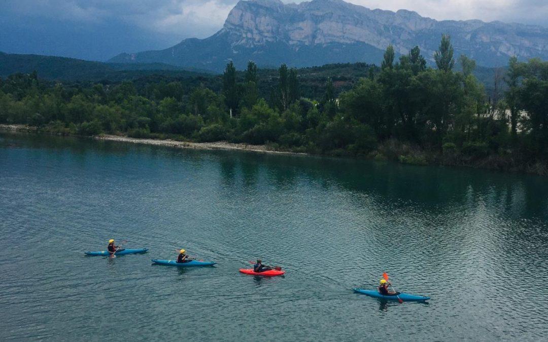 Realizado el curso de iniciación al kayak de aguas bravas, para socios del club