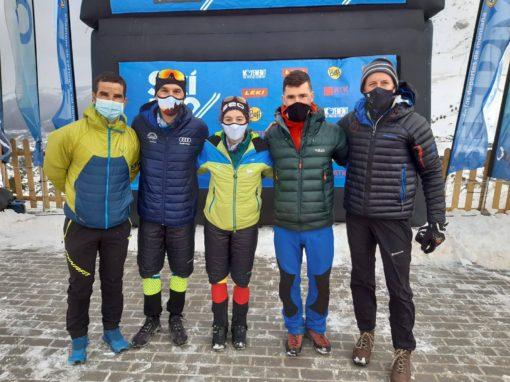 El CAS en el Campeonato de España de Esquí de montaña. Tenemos dos campeones en su categoría.