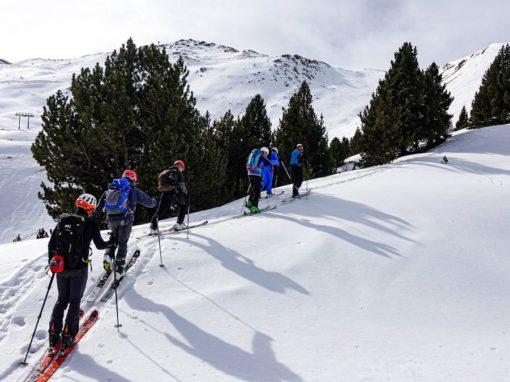 Realizado el curso de iniciación de Esquí de Montaña 2021.