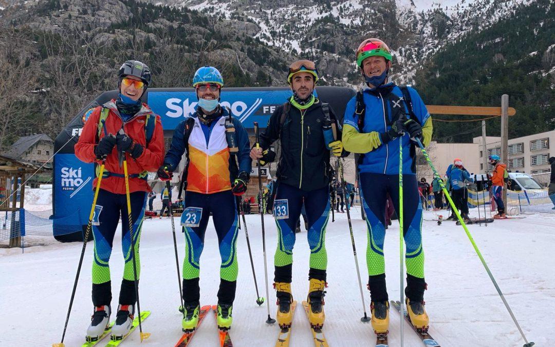 El CAS en la Copa de España y Campeonato de Aragón de esquí de montaña. Gran actuación de nuestros corredores