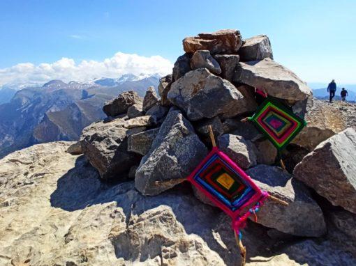 Realizada la subida anual a la Peña Montañesa. Sábado, 8 de Mayo de 2021