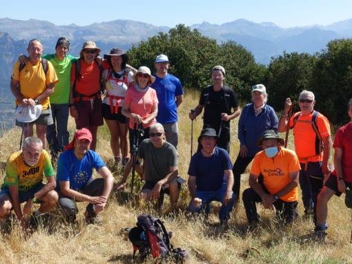 Realizada la tradicional ascensión al Pico Nabaín o Santa Marina (1.796m.). Sábado 17 de Julio de 2021