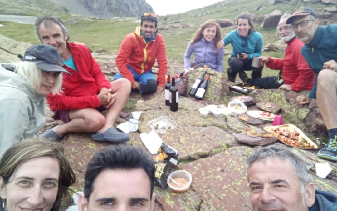 Vivac Ibones de Anayet 3 y 4 de Julio de 2021 y Salida senderista Ibones de Anayet 3 de Julio.