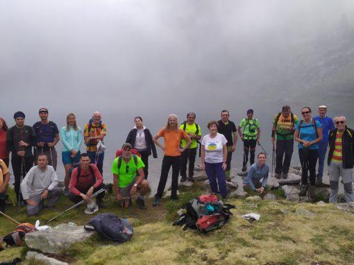 Realizada la salida senderista a Pico y Lagos de Bastán. Sábado 7 de agosto de 2021.