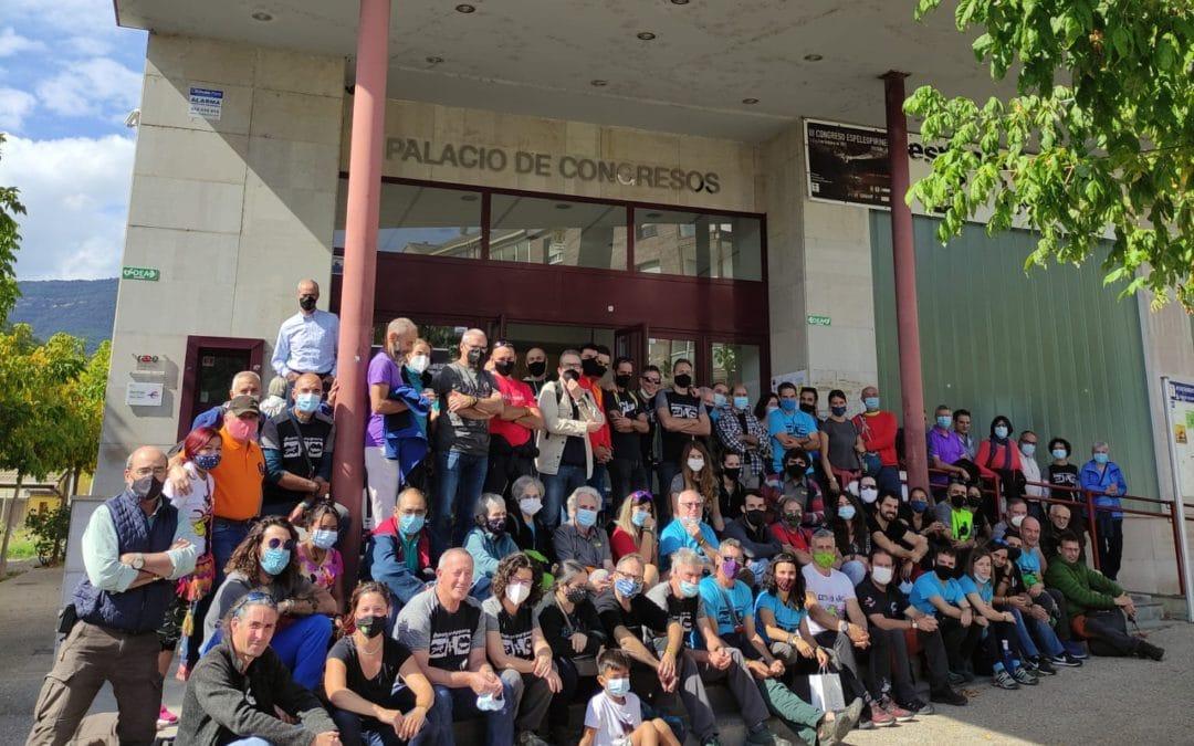 Realizado el pasado fin de semana 1, 2 y 3 de octubre el III CONGRESO ESPELEOPIRINEOS en Boltaña